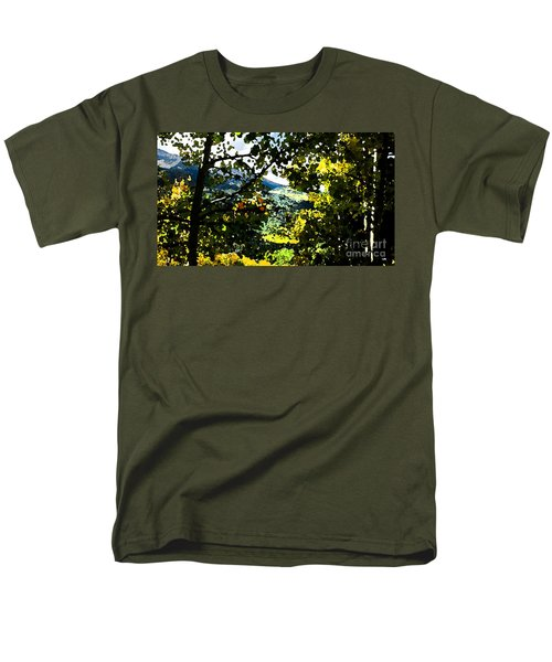 Aspen Effect Men's T-Shirt  (Regular Fit) by Deborah Nakano