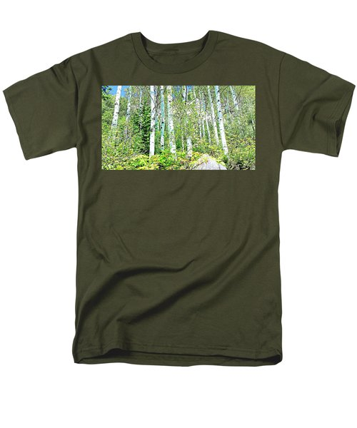 Aspen Splender Steamboat Springs Men's T-Shirt  (Regular Fit) by Joseph Hendrix
