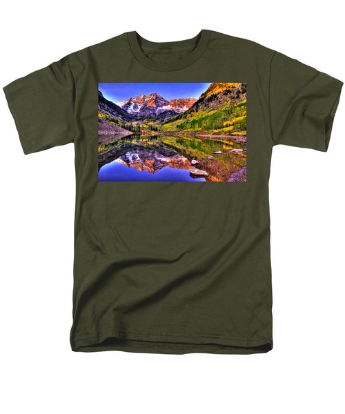 Aspen Wonder Men's T-Shirt  (Regular Fit) by Scott Mahon