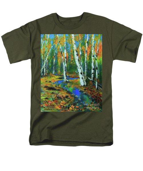 Aspens Men's T-Shirt  (Regular Fit) by Jeanette French