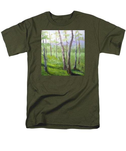 Aspens Soaring Men's T-Shirt  (Regular Fit)