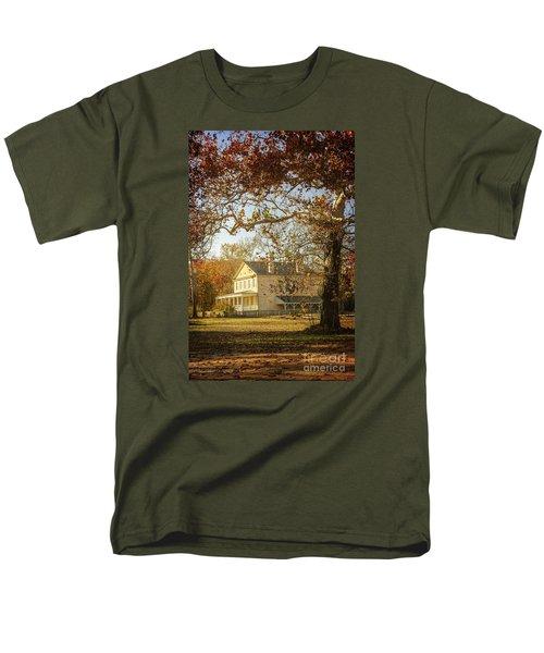 Atsion Mansion Men's T-Shirt  (Regular Fit) by Debra Fedchin