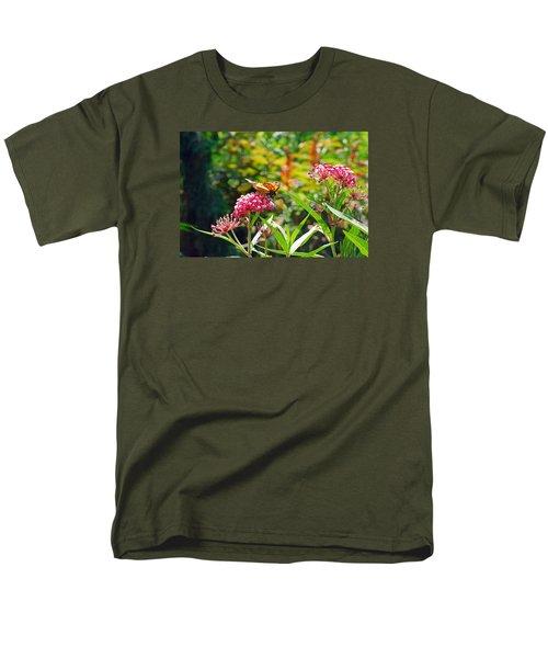 August Monarch Men's T-Shirt  (Regular Fit) by Janis Nussbaum Senungetuk