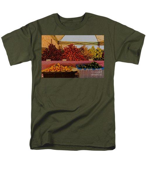 August Vegetables Men's T-Shirt  (Regular Fit) by Trey Foerster
