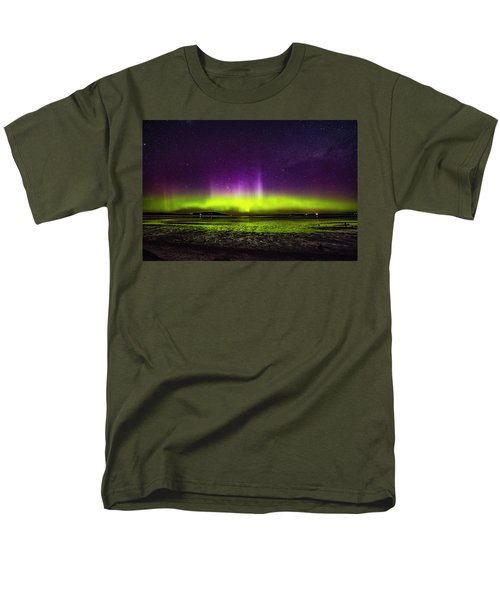 Men's T-Shirt  (Regular Fit) featuring the photograph Aurora Australis by Odille Esmonde-Morgan