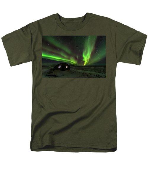 Aurora Storm Men's T-Shirt  (Regular Fit) by Allen Biedrzycki