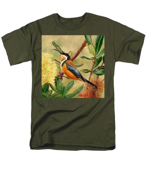 Australian Eastern Spinebill  Men's T-Shirt  (Regular Fit)