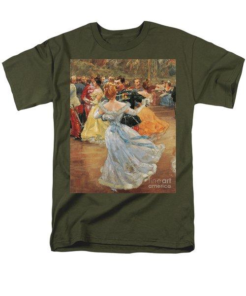 Austria, Vienna, Emperor Franz Joseph I Of Austria At The Annual Viennese Ball  Men's T-Shirt  (Regular Fit)