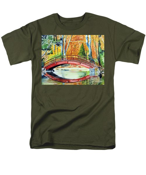Men's T-Shirt  (Regular Fit) featuring the painting Autumn Beauty by Tom Riggs