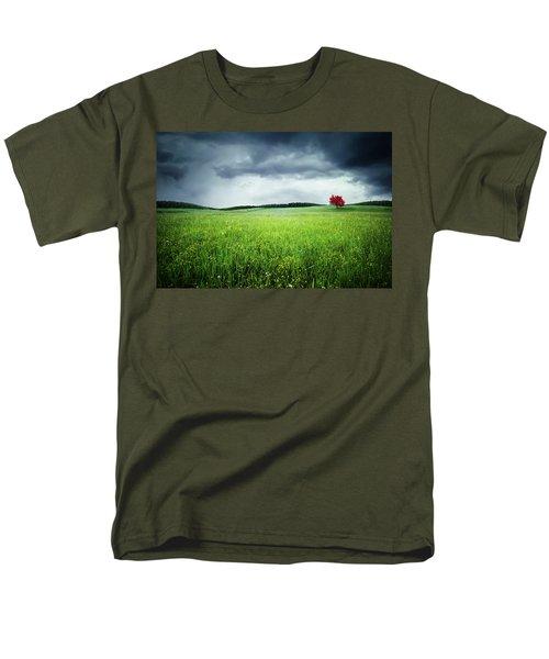 Men's T-Shirt  (Regular Fit) featuring the photograph Autumn by Bess Hamiti