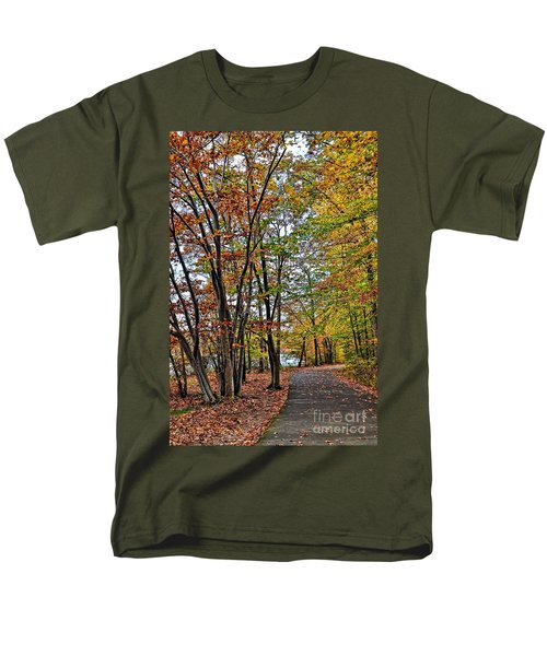Autumn Bliss Men's T-Shirt  (Regular Fit) by Gina Savage