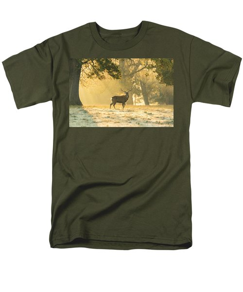 Men's T-Shirt  (Regular Fit) featuring the photograph Autumn Frost by Scott Carruthers