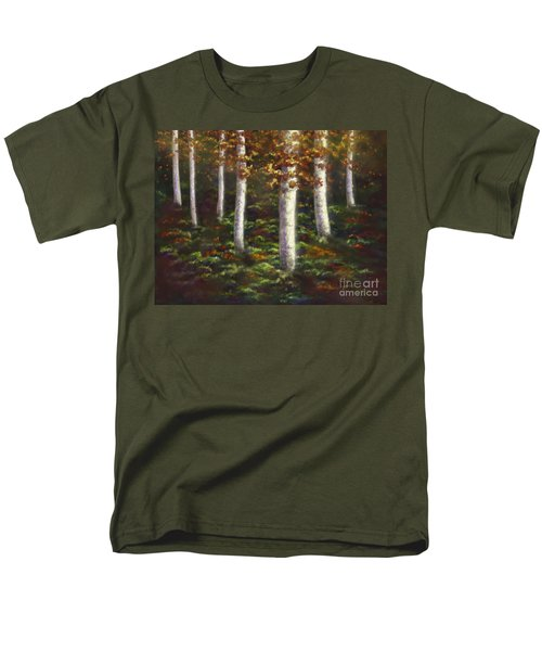 Autumn Ghosts Men's T-Shirt  (Regular Fit) by Amyla Silverflame