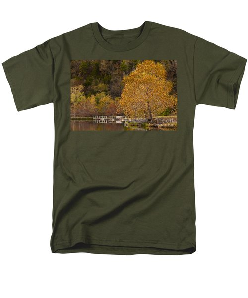 Autumn Glory In Beaver's Bend Men's T-Shirt  (Regular Fit) by Tamyra Ayles