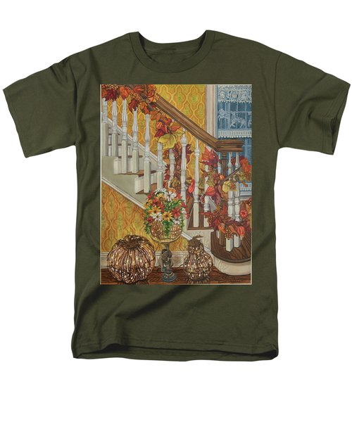 Autumn Hues Men's T-Shirt  (Regular Fit) by Bonnie Siracusa