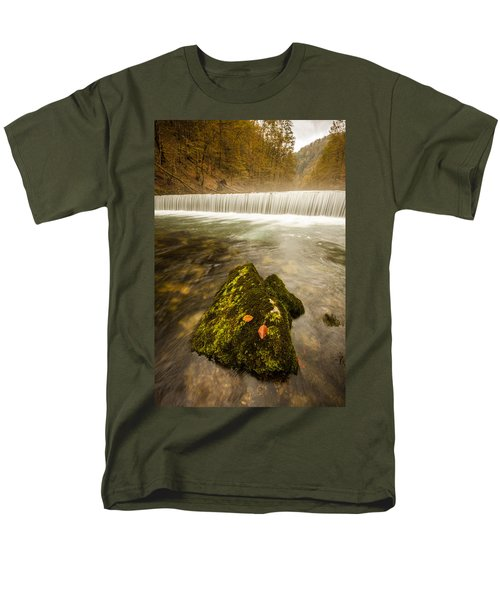 Men's T-Shirt  (Regular Fit) featuring the photograph Autumn In Croatia by Davorin Mance
