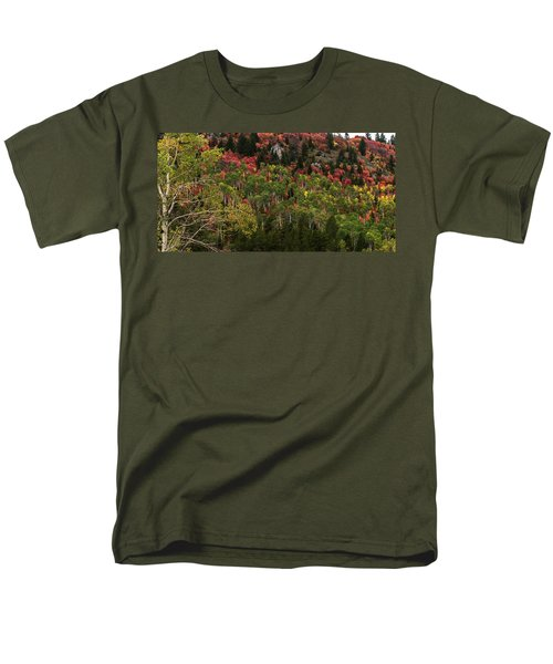Autumn In Idaho Men's T-Shirt  (Regular Fit) by Yeates Photography