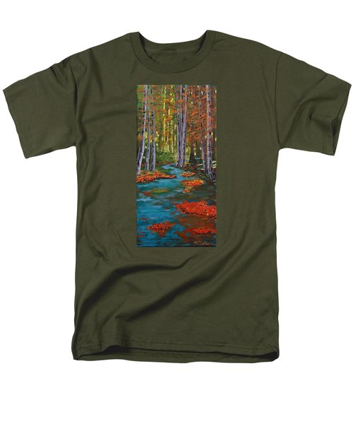Autumn In The Air Men's T-Shirt  (Regular Fit) by Mike Caitham