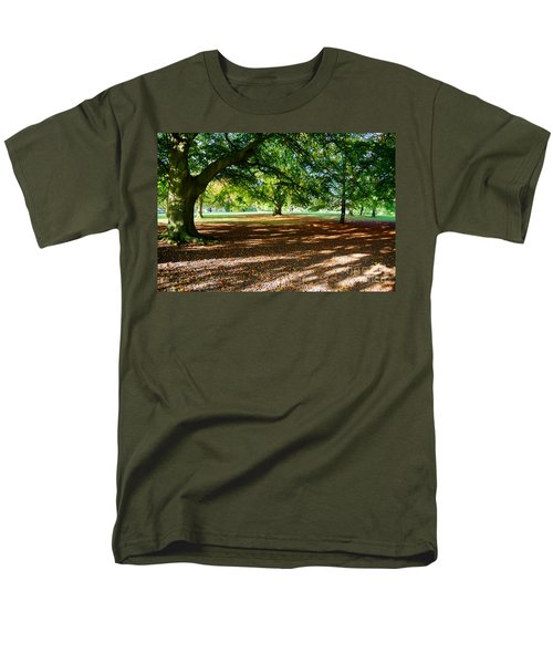 Autumn In The Park Men's T-Shirt  (Regular Fit) by Colin Rayner