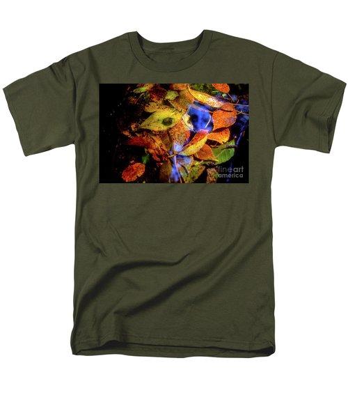Autumn Leaf Men's T-Shirt  (Regular Fit) by Tatsuya Atarashi