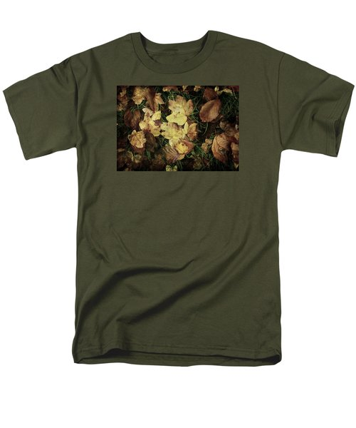 Autumn Leaves Are Falling Down... Men's T-Shirt  (Regular Fit) by Vittorio Chiampan