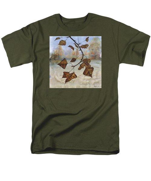 Autumn Leaves Men's T-Shirt  (Regular Fit) by Carolyn Doe