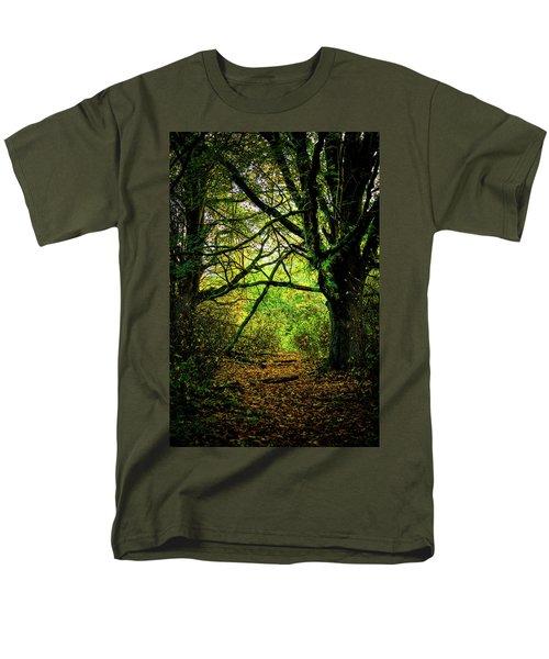 Men's T-Shirt  (Regular Fit) featuring the photograph Autumn Light by David Patterson