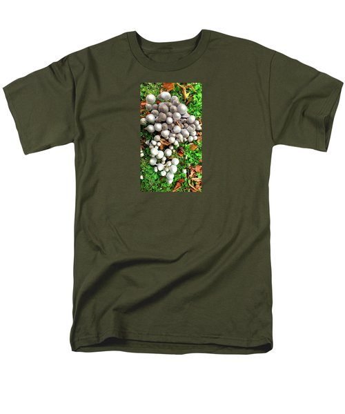 Autumn Mushrooms Men's T-Shirt  (Regular Fit) by Nareeta Martin