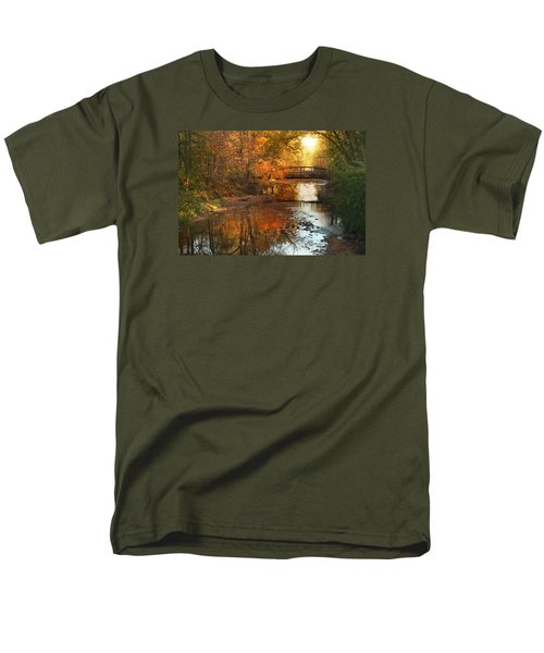 Autumn Over Furnace Run Men's T-Shirt  (Regular Fit) by Rob Blair