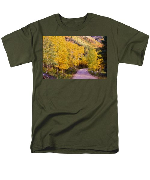 Autumn Passage Men's T-Shirt  (Regular Fit) by Lana Trussell