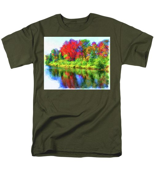 Autumn Reflections Men's T-Shirt  (Regular Fit)