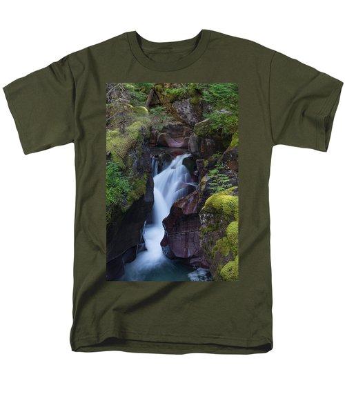 Avalanche Gorge 3 Men's T-Shirt  (Regular Fit) by Gary Lengyel
