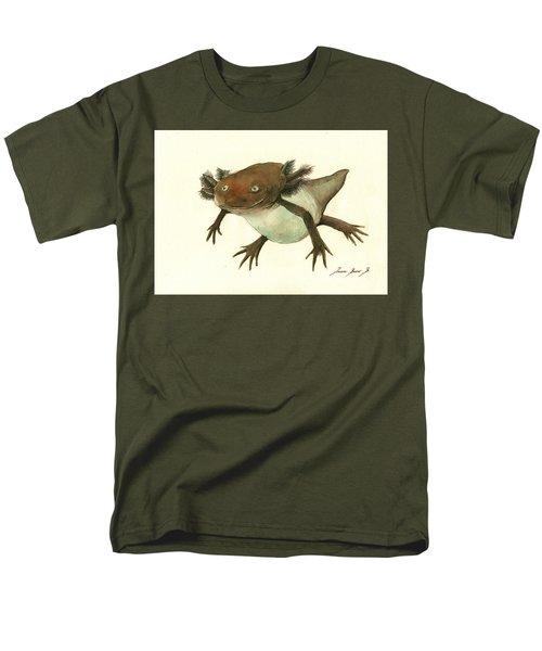 Axolotl Men's T-Shirt  (Regular Fit) by Juan Bosco