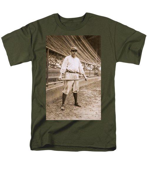 Babe Ruth On Deck Men's T-Shirt  (Regular Fit) by Jon Neidert