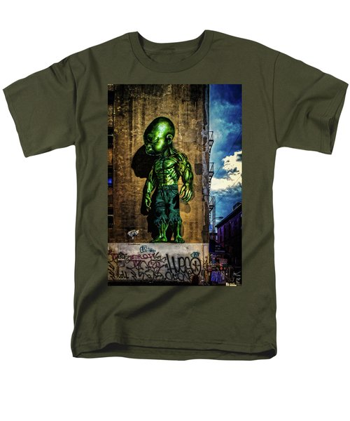 Men's T-Shirt  (Regular Fit) featuring the photograph Baby Hulk by Chris Lord