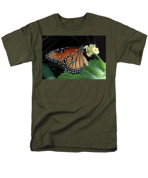 Baby Monarch Macro Men's T-Shirt  (Regular Fit) by Felipe Adan Lerma