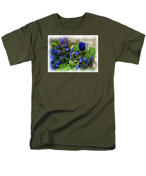 Men's T-Shirt  (Regular Fit) featuring the painting Babys Got The Blues by Patricia Griffin Brett