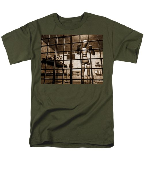 Bail Denied  Men's T-Shirt  (Regular Fit) by Bob Orsillo