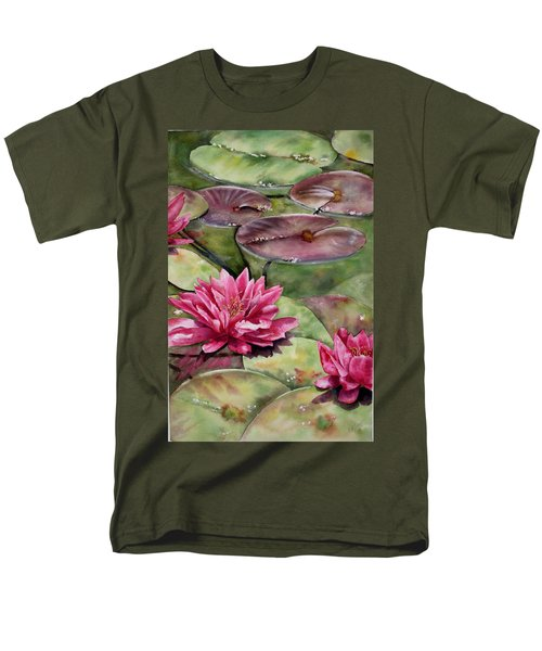 Balboa Water Lilies Men's T-Shirt  (Regular Fit)