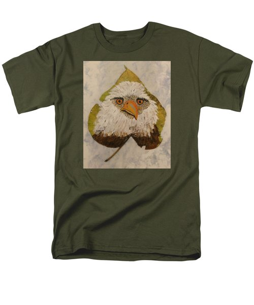 Bald Eagle Front View Men's T-Shirt  (Regular Fit) by Ralph Root