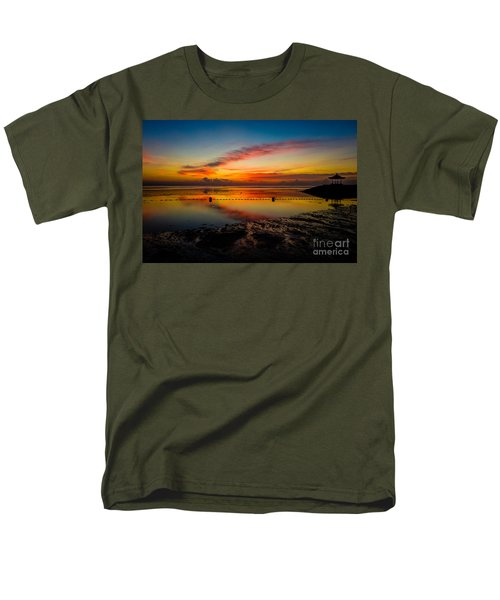 Bali Sunrise II Men's T-Shirt  (Regular Fit) by M G Whittingham