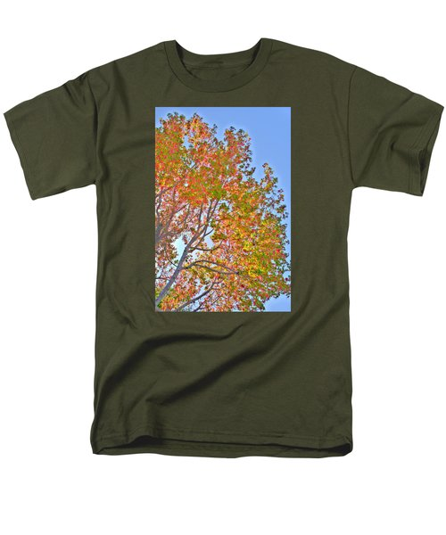 Ball To  The Wall Fall Men's T-Shirt  (Regular Fit) by Derek Dean