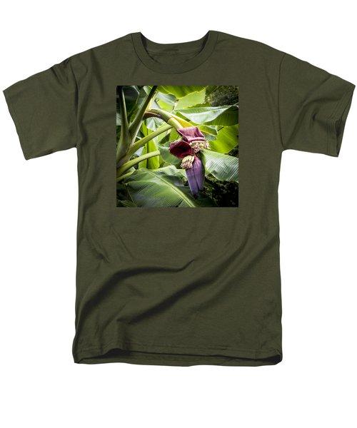 Banana Beginnings Square Men's T-Shirt  (Regular Fit) by Kerri Ligatich