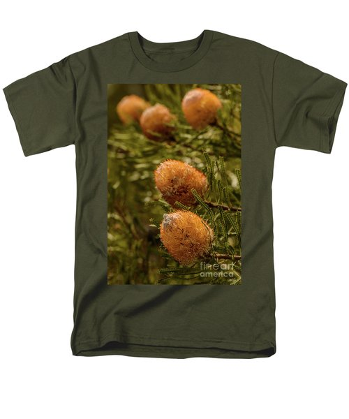 Men's T-Shirt  (Regular Fit) featuring the photograph Banksia by Werner Padarin