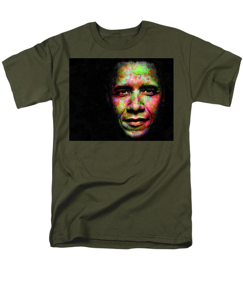 Barack Obama Men's T-Shirt  (Regular Fit) by Svelby Art