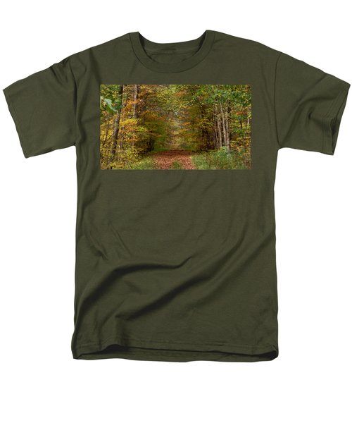 Baxter's Hollow  Men's T-Shirt  (Regular Fit) by Kimberly Mackowski