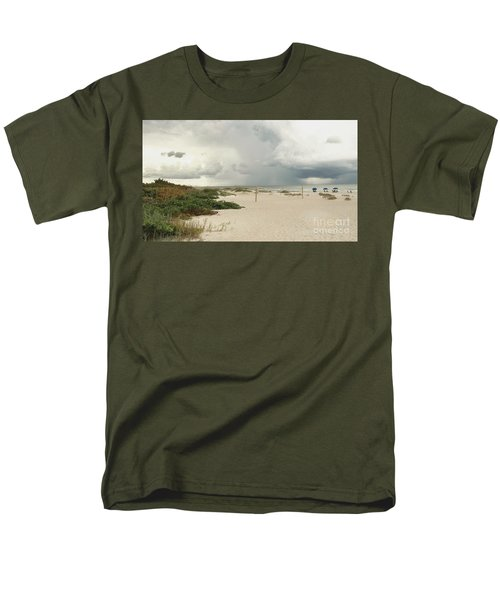 Beach Day Men's T-Shirt  (Regular Fit) by Raymond Earley