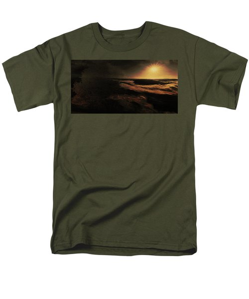 Beach Tree Men's T-Shirt  (Regular Fit)