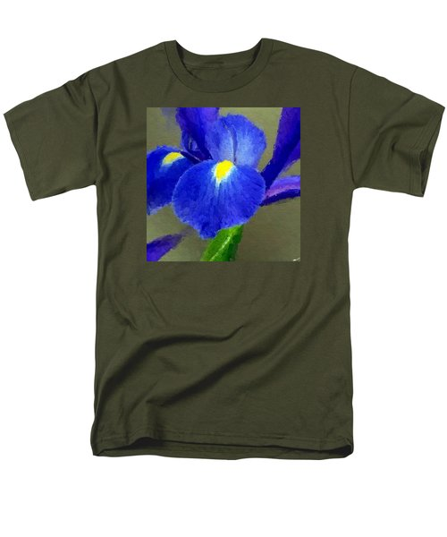 Bearded Iris Men's T-Shirt  (Regular Fit) by Anthony Fishburne