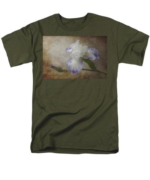 Bearded Iris Men's T-Shirt  (Regular Fit) by Patti Deters